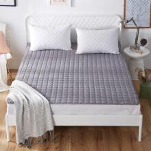 北极绒(Bejirog)床褥 夏季床垫床护垫防滑保护垫薄床褥子塌塌米单双人 灰色 90*200cm