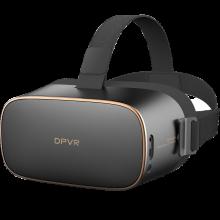大朋(DPVR) VR眼镜智能语音AI+VR新视界全景声3D巨幕影院VR一体机3D智能眼镜2D游戏 P1巨幕影院黑色