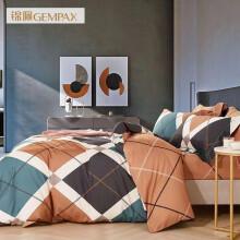 锦佩家纺 全棉阳绒四件套 套件 床单被套双人 -1 1.5米/1.8米床适用