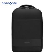 新秀丽(Samsonite)双肩包背包书包电脑包15.6英寸男女苹果笔记本包BU1*09001