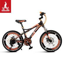 凤凰(Phoenix)儿童自行车20英寸21速青少年赛车中小学生山地车碟刹减震款战神  黑红色 22寸21速动感男孩