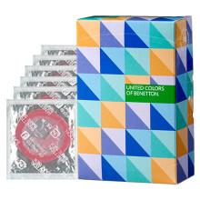 日本进口冈本(Okamoto)至尊超薄贝纳通安全套超薄避孕套 性爱套套 男女成人情趣计生用品 6只装