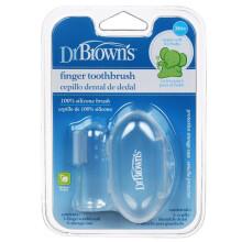 布朗博士DrBrown's 婴幼儿牙刷牙膏口腔清洁护理 婴儿指套牙刷HG010