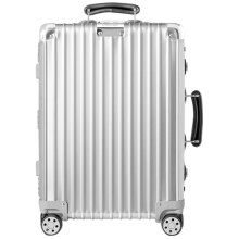 日默瓦(RIMOWA) 铝镁合金拉杆登机箱 CLASSIC  20寸银色 972.52.00.4