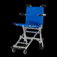 中进207轮椅折叠轻便日本进口航钛铝合金老人登机轮椅超轻便携简易手推车可上飞机老年人旅行残疾人代步车 NAH-207依赛哈专款蓝色