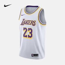 耐克 洛杉矶湖人队男子球衣 NIKE NBA CONNECTED JERSEY AA7101 AA7101-111 XXL