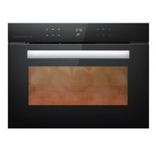 德意(DE&E)嵌入式烤箱 45L大容量家用多功能 热风循环电烤箱 620D