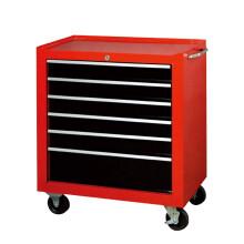BIG RED汽修工具车推车多功能工具柜架子六层抽屉式维修工具箱