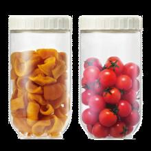 乐扣乐扣(LOCK&LOCK)新概念冰箱侧门储物罐食品保鲜盒密封零食罐多件套装 INL301S902 十件套 INL203S001两件套