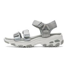 斯凯奇(Skechers)D'lites熊猫系列简约时尚厚底沙滩休闲女鞋 31514 灰色/GRY 37
