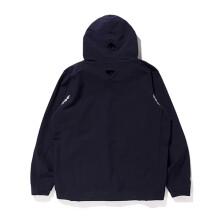 步系列  phenix/秋季男士防雨防水连帽套头衫PO912WT25 黑色 S