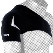 京东超市D&M 日本运动护肩健身肩周防护男女通用护肩套 AT-4001黑色S胸围(70-85cm)护肩