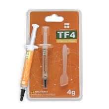 利民(Thermalright ) TF4导热硅脂 (CPU散热膏/ 4g装/导热系数9.5/笔记本硅脂/显卡导热膏)