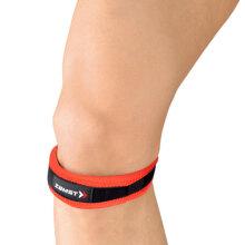 赞斯特 ZAMST JK-Band髌骨带 保护髌骨膝盖护膝跑步马拉松骑车球类跳跃运动护具(1只装)红色S码