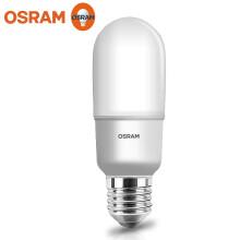 欧司朗OSRAM 星亮T型LED甜筒砂泡 9W/827 220-240VFR E27 2700K 黄光 10只装