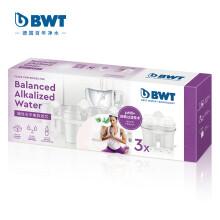 倍世(BWT)第4代锌碱性水平衡款滤芯 3只装 德国技术原装进口 过滤净水器 家用滤水壶 净水杯净水壶滤芯