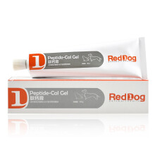 红狗RedDog肽钙膏 狗狗猫咪补钙营养健骨关节保护液体钙 肽钙膏120g