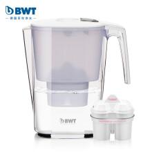 倍世(BWT)思镁系列 Slim 3.6 L 电子计次 典雅白 德国原装进口过滤净水器 家用滤水壶 净水壶