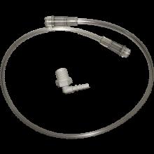 Hsiner 新广业进口吸氧管鼻氧管湿化杯 英维康亚适制氧机 制氧机通用配件 新广业进口湿化杯连接管