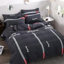 罗朋家纺 学生宿舍单人床上三件套床上用品床单被套被罩四件套0.9m1.2米寝室上下铺被子被褥套装全套 漫步人生 0.9-1.2床通用(三件套/被套150x200)