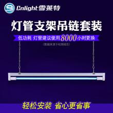 雪莱特(Cnlight) 雪莱特紫外线消毒灯紫外线杀菌灯家用幼儿园甲醛室内工程装修 20W无臭氧+1米吊链支架