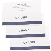 香奈儿(Chanel) Chanel/香奈儿粉底液 果冻凝冻气垫水粉底12号粉白试用装 3ml*3个