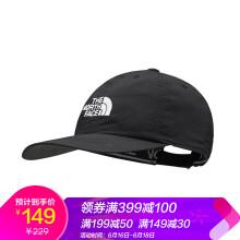 北面(The North Face)北面中性帽子卷檐棒球帽鸭舌帽运动帽NF00CF7W JK3 XL号