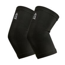 京东超市 AQ护肘 针织标准型四向弹力护手臂护具黑色1181加大码一对 中长款 S码对装