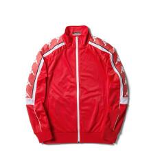 KAPPA卡帕 BANDA串标情侣男女卫衣开衫外套 K0852WK68M  男款 红火色-563 M