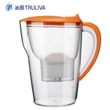沁园(TRULIVA)净水壶 QB-CT-101D 家用净水器 滤水壶 移动式净水杯  2.5L