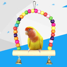 鸟用品用具 鸟玩具鹦鹉玩具秋千 鸟栖息秋千吊桥吊环云梯 秋千