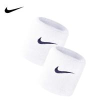 京东超市NIKE 耐克护腕男女时尚运动吸汗手腕套 篮球羽毛球网球跑步擦汗护具NNN04101OS 白色