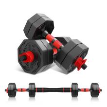 京东超市 凯速 哑铃男士家用30公斤(15kg*2)可拆卸杠铃套装环保龙纹运动健身器材 10kg