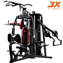 JX军霞家用综合训练器大飞鸟三人站健身器材多功能可折叠大型运动力量组合器械JX-DZ306
