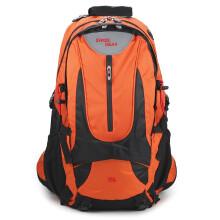 瑞士军刀swissgear登山包 男女户外徒步旅行包35L 大容量野营出游行李双肩背包 橙色 防泼水专业登山包