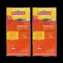 美国直邮 Nature Made 莱萃美中老年人糖尿健康套餐包 复合维生素辅助降血糖调节三高 60包/盒 * 2盒
