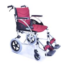 泰康轮椅车折叠轻便便携旅行老人老年人残疾人代步车 新SYIV100-30A4【12寸小轮免充气胎】
