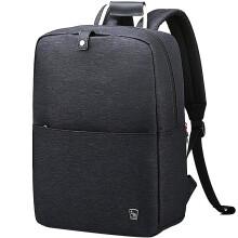 爱华仕(OIWAS)双肩包商务自营 时尚简约电脑包15.6英寸男女包 4547韩变黑