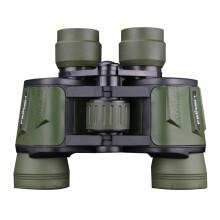菲莱仕双筒望远镜高倍高清便携成人儿童演唱会非夜视观鸟镜10x50 T18 黑色 军绿