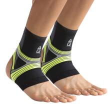 京东超市 AQ护踝夜间跑步运动护脚踝脚腕护具荧光黄R20605XL 对装 夜跑荧光黄M 对装