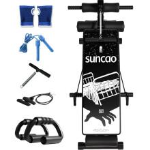 双超 漫画仰卧板仰卧起坐板 家用健身器材哑铃凳 运动器材腹肌板男女收腹器卧推 SB035
