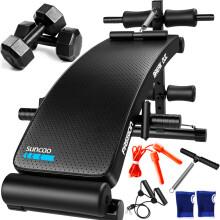 双超(suncao)仰卧板仰卧起坐板 家用健身器材 运动减肥健身板多功能收腹器腹肌卧推板SC-SB021