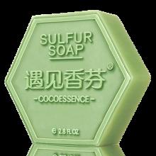 京东仓 遇见香芬 满婷 华巾大 赠品 合集 实用 硫磺皂单块