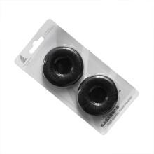 爱科技AKG K420海绵套耳机棉 Y30耳绵套耳机膜耳罩耳机配件 黑色皮套1盒