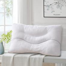 富安娜出品 圣之花 枕头 单人草本枕芯 成人颈椎枕头芯 芯眠麦饭石枕 一个装 70*45cm