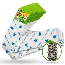 绿叶 粘蝇条粘苍蝇纸粘蝇彩带蚊虫粘纸30条装JD3001