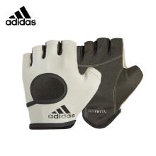 阿迪达斯(adidas)女式健身手套户外骑行防滑护掌吸汗透气半指手套一对装 石灰M码 ADGB-12644