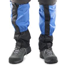 埃尔蒙特 ALPINT MOUNTAIN  户外雪套登山徒步防沙防雪鞋套 蓝配黑 670-048
