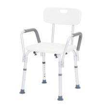 泰康洗浴椅老年人冲凉凳洗澡椅铝合金洗浴椅老人防滑孕妇残疾人沐浴椅浴室椅5802 5802洗浴椅
