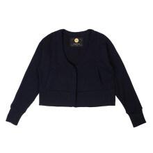 phenix/秋冬女款保暖抓绒开衫时尚卫衣外套PC962KT23 深蓝色DB S
